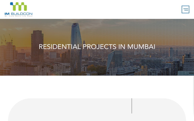 Residential Projects in Mumbai - IM Buildcon website