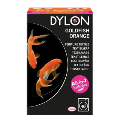 Dylon Textielverf Machine - Goldfish Orange 350g
