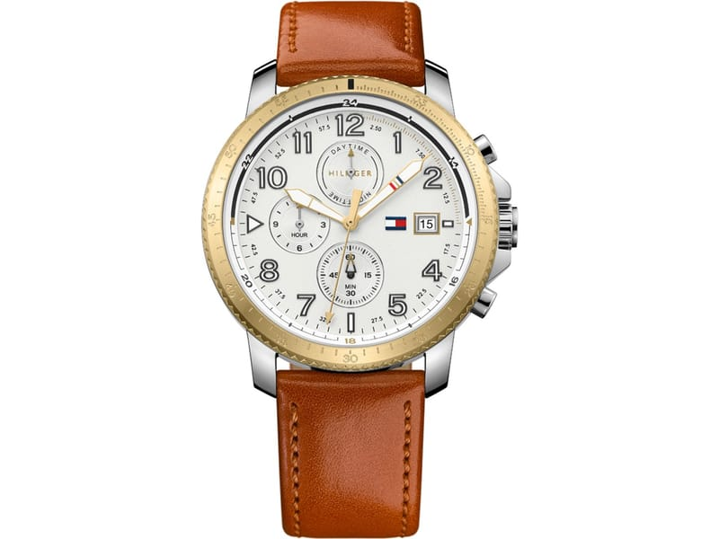 Tommy Hilfiger TH1791363 Horloge Bruin mm
