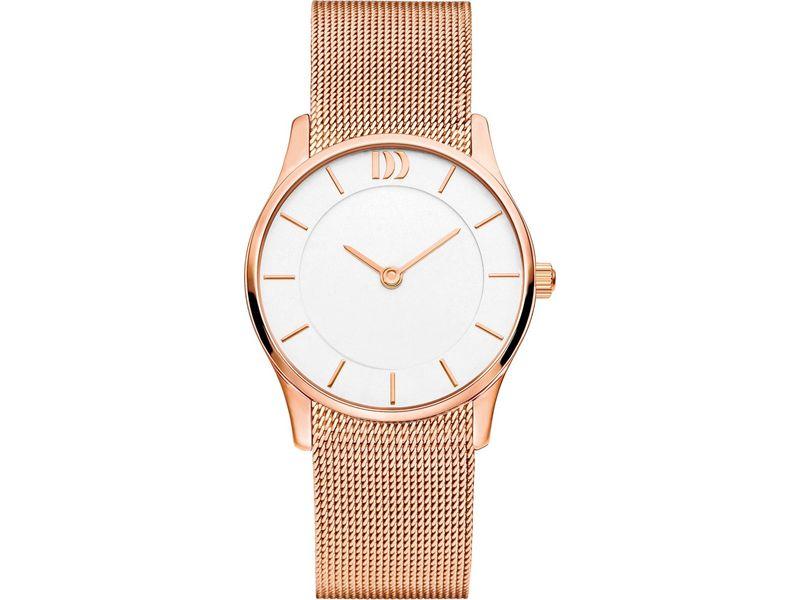 Danish Design IV67Q1063 horloge dames edelstaal PVD 3
