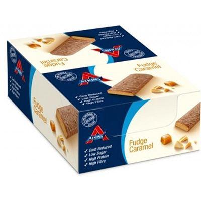 Atkins Fudge Caramel reep 60 gr