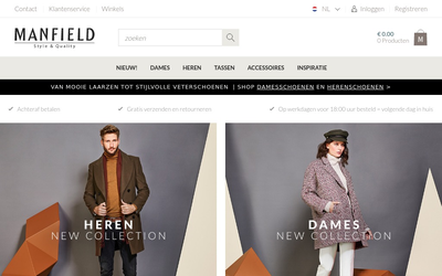 Manfield website