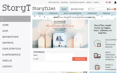 Storytiles website