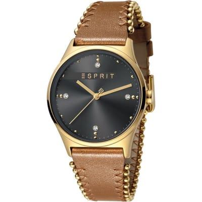 Esprit ES1L032L0035 horloge bruin