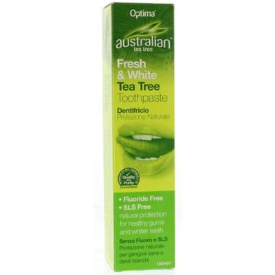 Optima Australian Tea Tree Tandpasta Fresh And White
