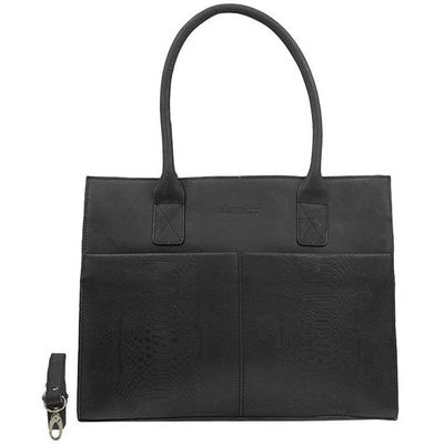 DSTRCT Fletcher Street Businessbag black