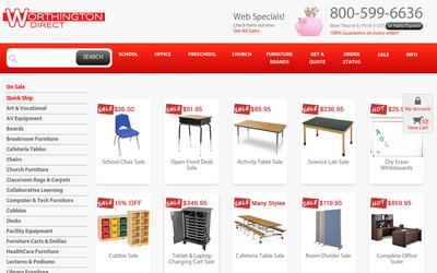 Worthingtondirect.com website