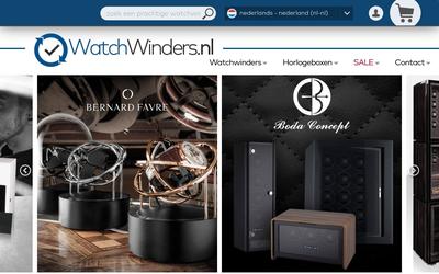 Watchwinders website