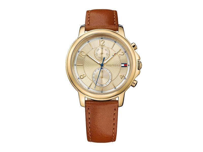Tommy Hilfiger TH1781818 horloge dames bruin