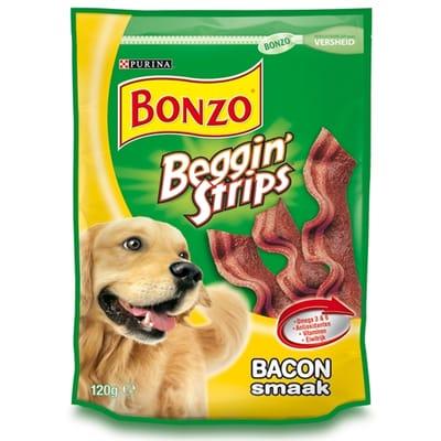 Bonzo Strips Bacon 6 x 120 gr