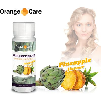 Orange Care Artichoke Shots