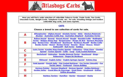 Atlasdogs.com website