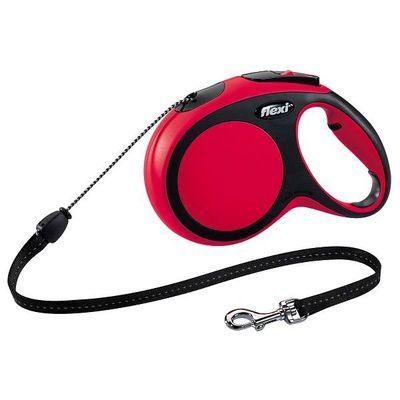 Flexi New Comfort Cord Hondenriem Rood S 8 M