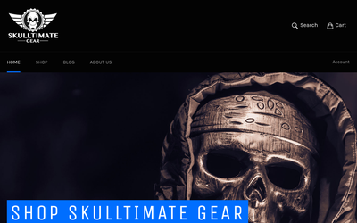 Skulltimate Gear website