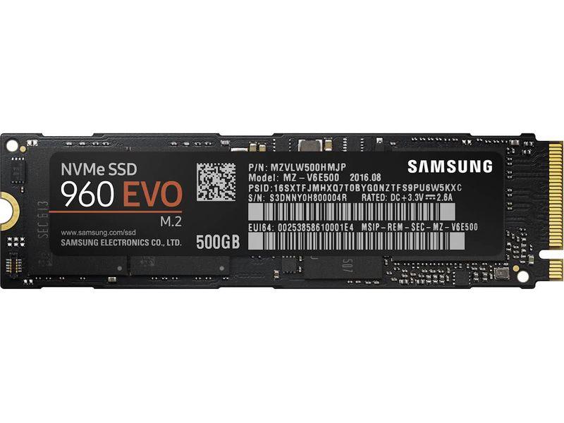 Samsung 960 EVO - 500 GB