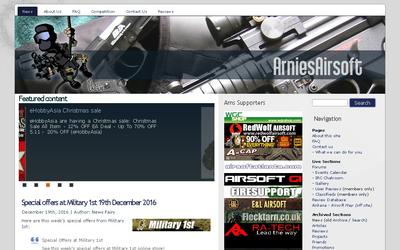 Arnies Airsoft website