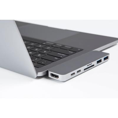 Hyper USB-C Adapter Met Thunderbolt 3 Grijs