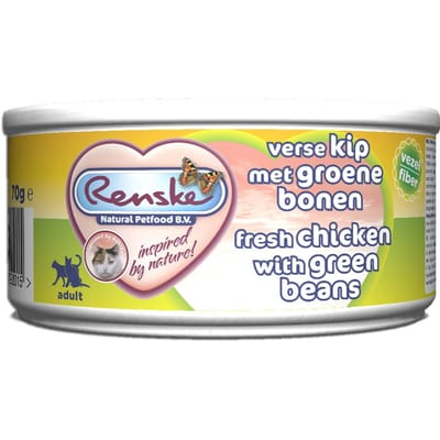 Renske Kip Groene Bonen Kat 70 gr