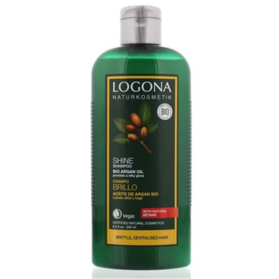 Shampoo glans bio argan olie