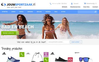 Jouwsportzaak website