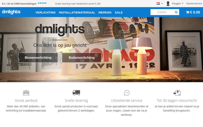 dmlights website