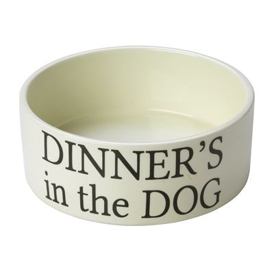 House of paws voerbak hond dinner's in the dog creme