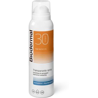 Biodermal Zonnespray SPF30 Zonbescherming