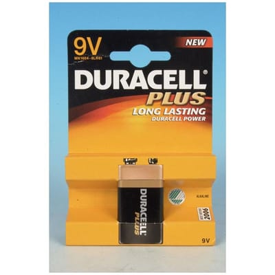 Duracell Plus batterij Power 9V A