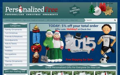 PersonalizedFree.com website