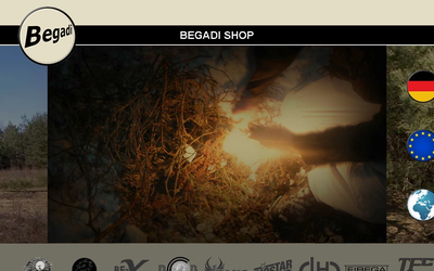 Begadi Shop website