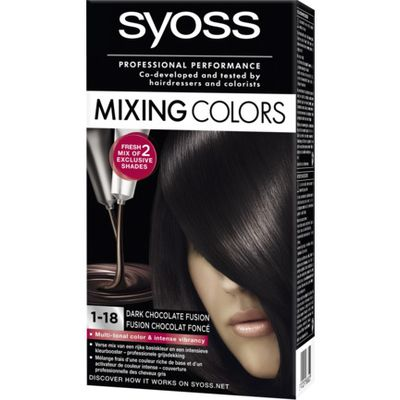 Syoss Mixing Colors 1-18 Dark Chocolate Fusion