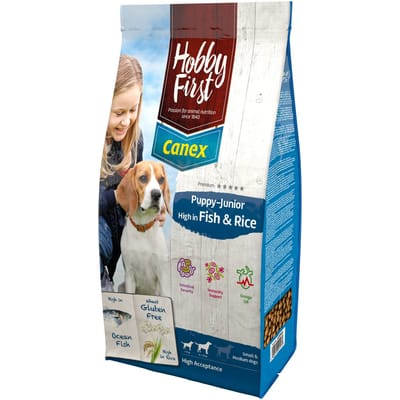 canex fish rice Hobby First Puppy Junior