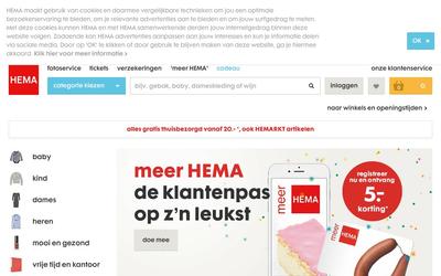 HEMA website