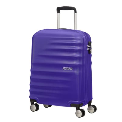 American Tourister Wavebreaker Spinner 55 nautical blue