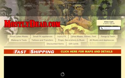 MostlyDead.com website