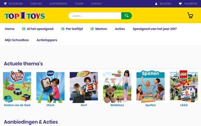 Top1toys website