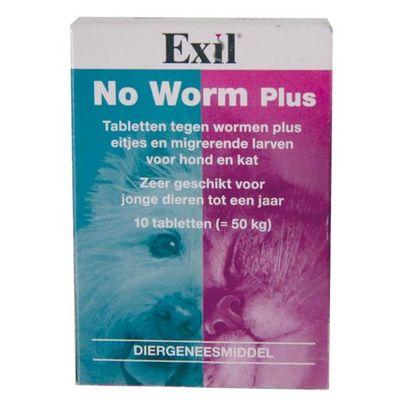Exil hond/kat no worm plus