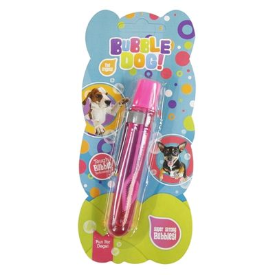 Bubble dog hand bellenblaas