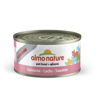 Almo Nature Nature Cat Zalm 70 gr