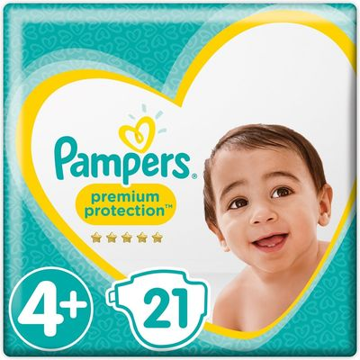 Pampers Premium Protection Maat kg 21 Luiers Maxi