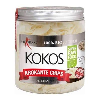 Lucovitaal Kokos chips 100