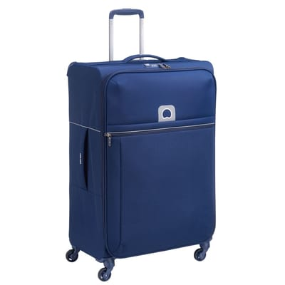 Delsey Brochant 4 Wheels Trolley 78 blue