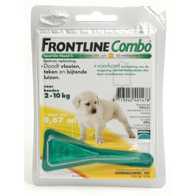 Frontline combo puppypakket