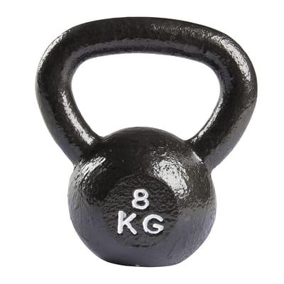 VirtuFit Kettlebell Gietijzer 8 kg