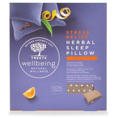Treets Wellness Herbal Sleep Pillow Stress Relief