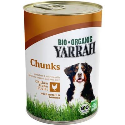 Yarrah brokjes kip in saus en hondenvoer 820 gr