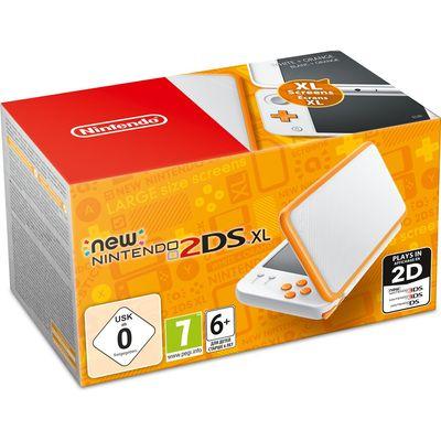 Nintendo 2DS XL Wit Oranje