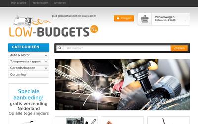 Low-Budgets.nl website