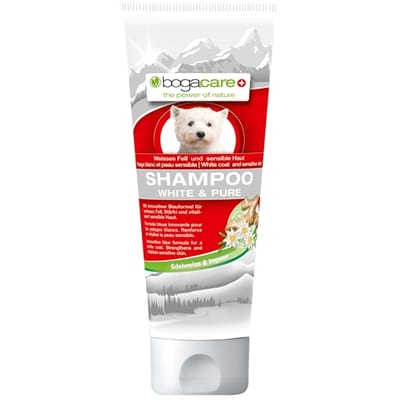 Bogacare shampoo white&pure voor witte vacht