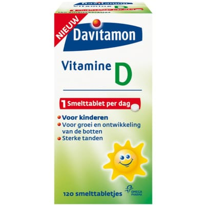 Davitamon Vitamine D Smelttablet Kind